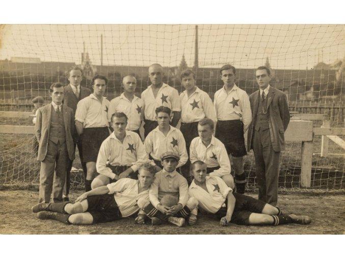 Dobová fotografie dorosteneckého týmu S.K.Slavia , 1933DSC 0158