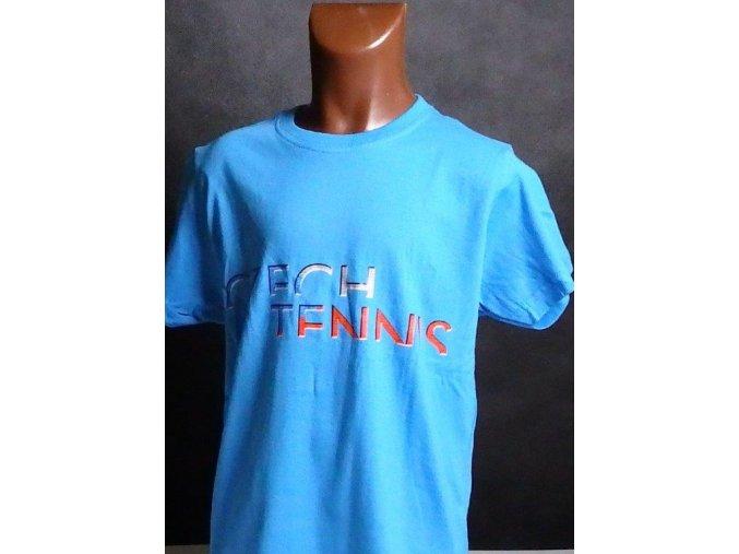 Tričko CZECH TENNIS modré