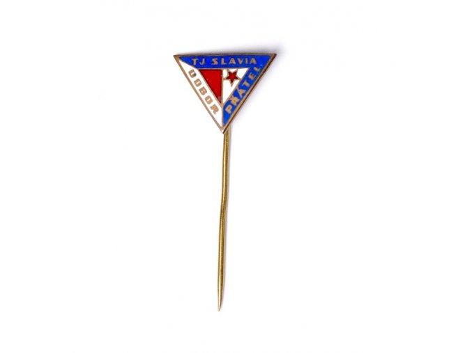 Odznak TJ Slavia Praha, odbor přátelDSC 0306