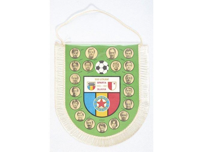 Vlajka SPARTA vs. SLAVIA, 200 utkání 1893 1981DSC 1018