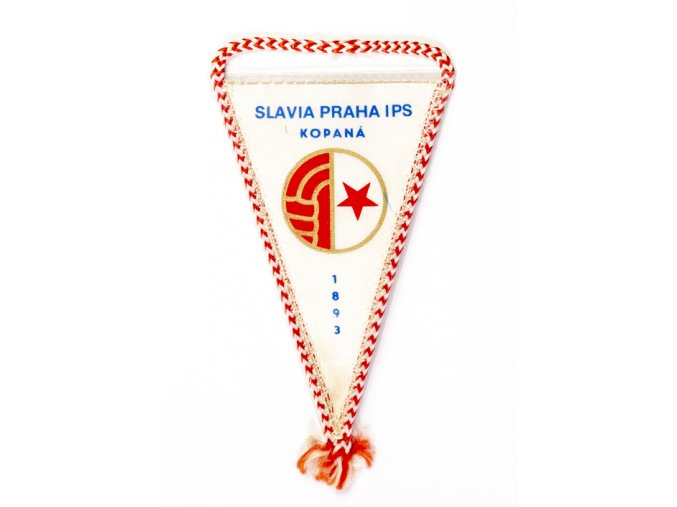 Autovlajka SK SLAVIA PRAHA kopaná IPS 1893Autovlajka SK SLAVIA PRAHA kopaná IPS 1893 (1)