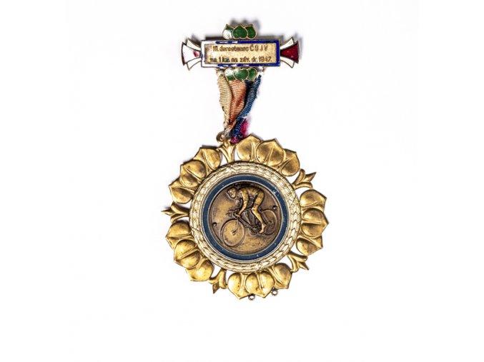 Medaile cyklistika 1947DSC 2372