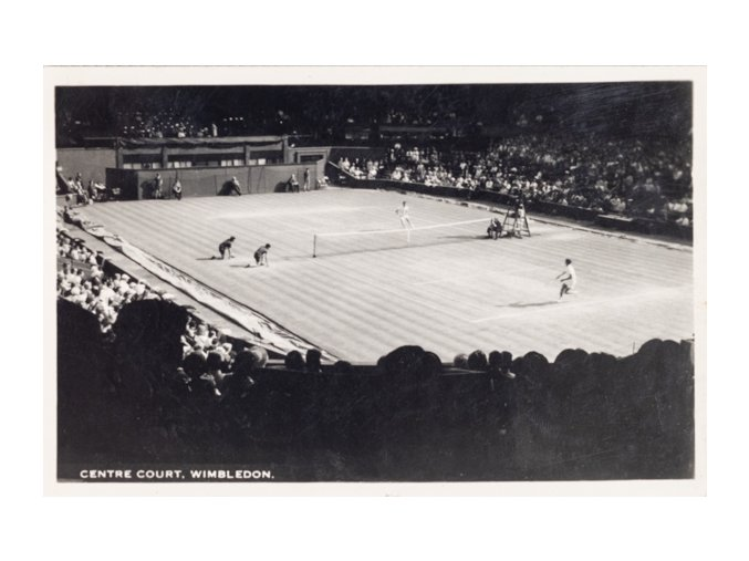Post card Fotografie, centre court, Wimbledon, 1967DSC 2343