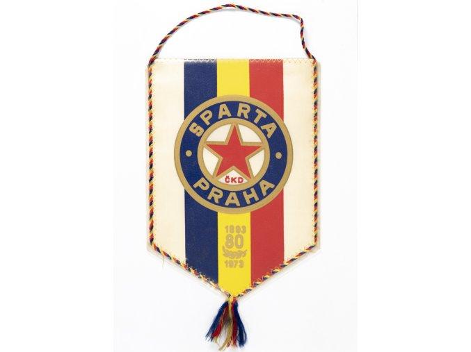 Klubová vlajka 80 let SPARTA ČKD PRAHADSC 2487