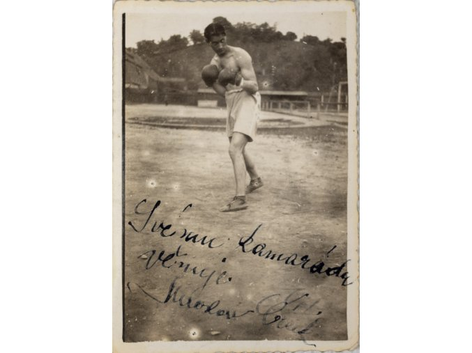 Dobové foto boxer Miroslav ČížekDSC 2482