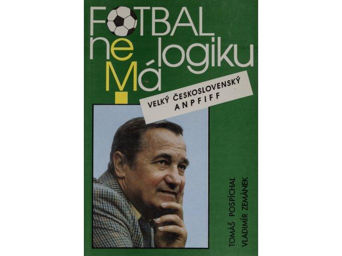 Kniha Fotbal nemá logikuDSC 2497
