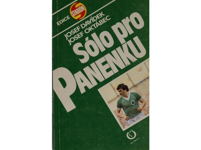 Kniha Sólo pro Panenku.DSC 2496