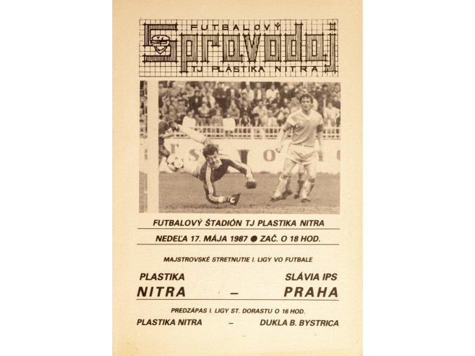 Program k utkání NITRA vs. Slavia PrahaDSC 4378