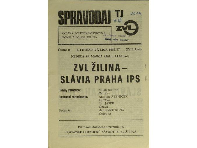 Program k utkání Žilina vs. Slavia Praha IDSC 4377