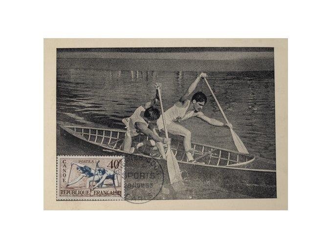Pohlednice Canoe BI place, 1953DSC 4448