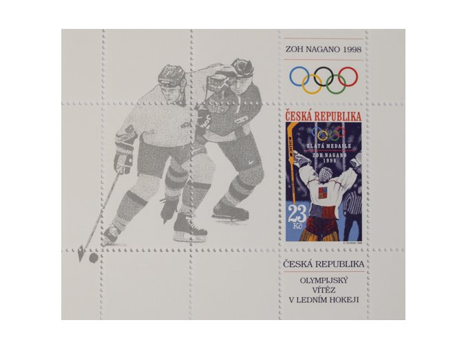 Výplatní známky Česká republika jednotlivá známka ilustrační foto.DSC 4454
