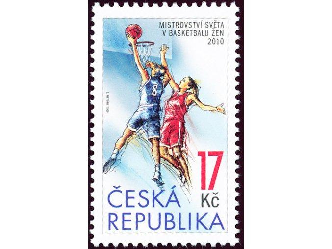 Známka MS v Basketbalu žen 2010