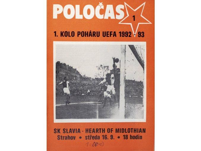 POLOČAS SLAVIA Praha vs. Hart of MIDLOTHIAN, 1992DSC 4664