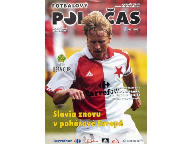 Slávistický POLOČAS SK SLAVIA PRAHA vs. FC Dinamo Tbilisi, velkýDSC 4675