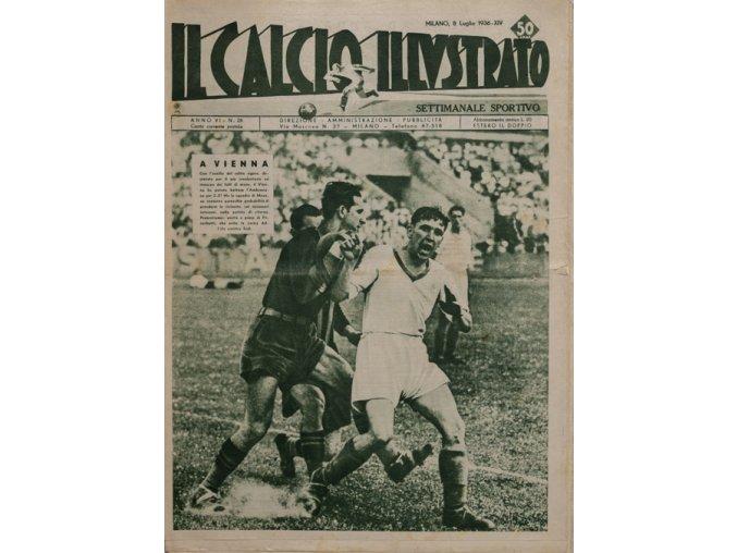 Noviny IL Calcio Illvstrato 1936, Roma SpartaDSC 4695