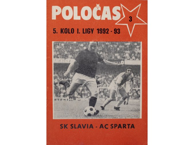 POLOČAS SLAVIA Praha vs. Sparta Praha, 1992DSC 4662