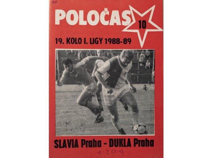 POLOČAS SLAVIA Praha vs. Dukla Praha, 1989DSC 4717