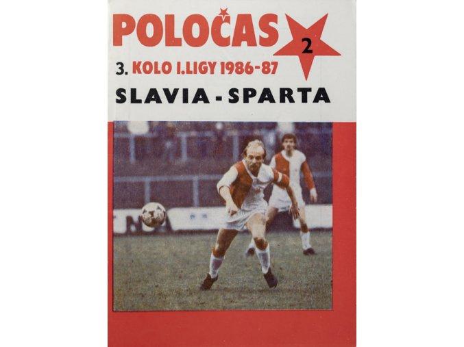 POLOČAS SLAVIA Praha vs.Sparta Praha, 1986DSC 4721