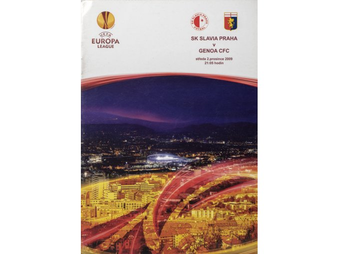 Slávistický POLOČAS SK SLAVIA PRAHA vs. Genoa FC, 2009DSC 4724