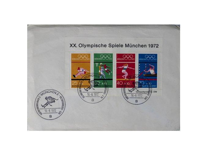 FDC XX.Olympishe Spiele Munchen 1972DSC 5681