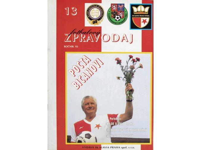 Fotbalový zpravodaj POCTA BICANOVI, ročník 93, 13DSC 5664