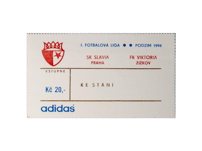 Vstupenka fotbal SK Slavia Praha vs. FK Viktoria ŽižkovDSC 5683