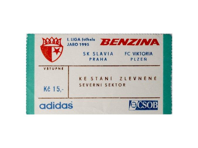 Vstupenka fotbal SK Slavia Praha vs. FC Viktoria PlzeňDSC 5684