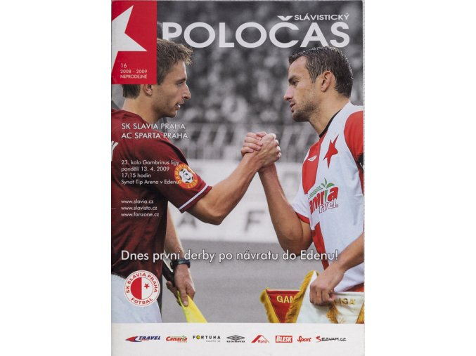 Slávistický POLOČAS SLAVIA Prague vs. AC Sparta Praha, 2009DSC 6045