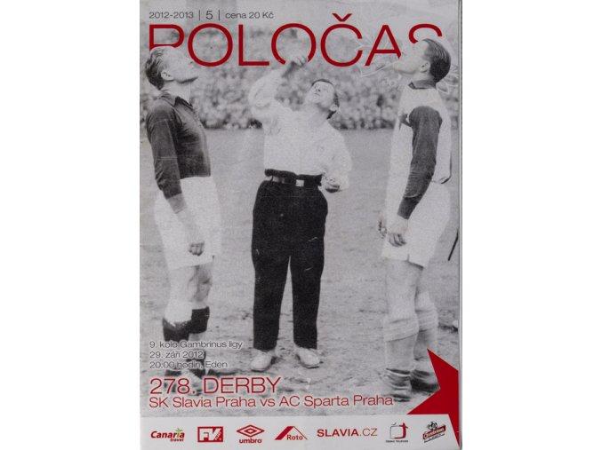 Slávistický POLOČAS SLAVIA Praha vs. AC Sparta Praha, 2012, 278. derbyDSC 6052