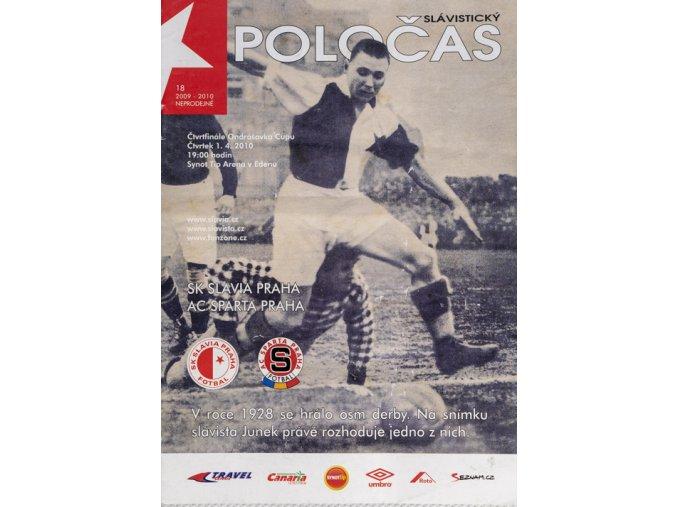 Slávistický POLOČAS SLAVIA Praha vs. AC Sparta Praha, 2010, JunekDSC 6046