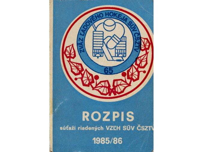 Rozpis sútaží VZLH SUV ČSZTV 1985 1986DSC 6578
