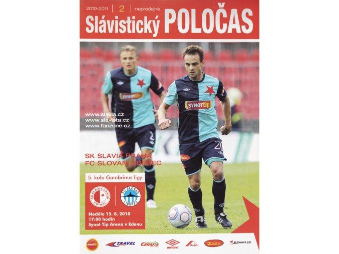 Slávistický POLOČAS SK SLAVIA PRAHA vs. FC Slovan Liberec, 2010Slávistický POLOČAS SK SLAVIA PRAHA vs. FC Slovan Liberec, 2010