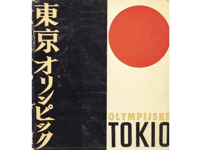 Kniha Olympijské Tokio, Karel NovákKniha Olympijské Tokio, Karel Novák