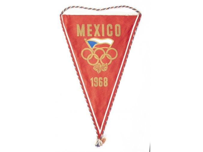 Klubová vlajka OH Mexico 1968Klubová vlajka OH Mexico 1968 (1)