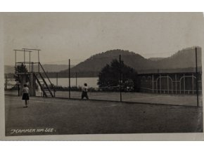 Pohlednice Hammer am See, tennis, 1938 (1)