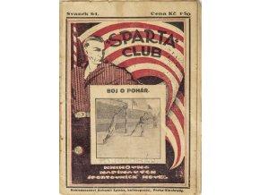 Kniha Sparta Club, knihovna papírových sportovních novel, Boj o pohár