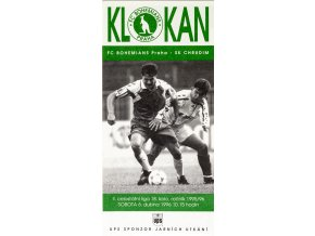 Program Klokan, FC Bohemians Praha vs. SK Chrudim, 1996