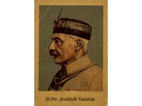 Kartička Sokol, JUDr. Jindřich Vaníček (1)