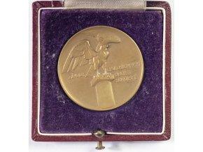Medaile v etui, SOKOL, Jaroslav Horejc (2)