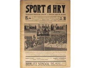 Noviny Sport a Hry, z Matche Slavia Preussen, 1906 (1)