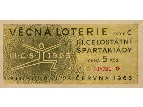 Los Věcná loterie III. Československé spartakiády, 1965 II