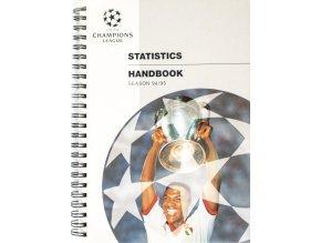 Ročenka Statistics Handbook, season 9495, UEFA Champions league 3
