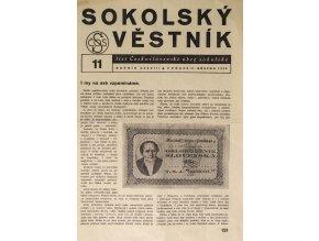 Věstník sokolský, 193611