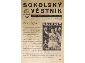 Věstník sokolský, 193612