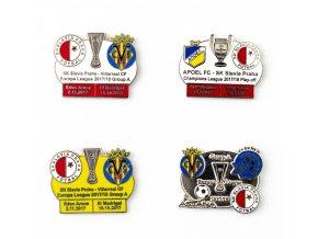Sada odznaků smalt Europa league, group A, 201718