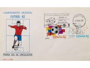 FDC Copa Mundial de Futbol, Espana, Madrid, 1982