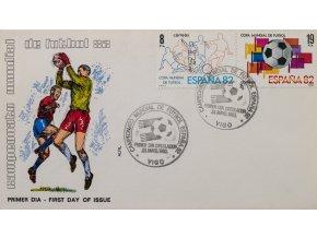 FDC Copa Mundial de Futbol, Espana, VIGO, 1982
