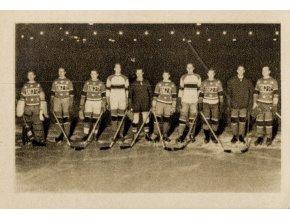 Kartička sběratelská ILSA, 1934, Hockeyový tým USA, 197