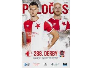 POLOČAS SLAVIA Praha vs. AC Sparta Praha, 287. derby, 2017 18