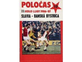 POLOČAS SLAVIA vs. Bánská Bystrica 1986 87